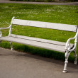 Bench in the park. — Stock Photo