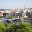 Beautiful views of the city in summer. Prague, Czech Republic. — Stock Photo #5464664