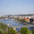 Beautiful views of the city in summer. Prague, Czech Republic. — Stock Photo #5464699