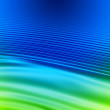 Stock Photo: Blue wavy abstract background