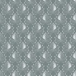 Seamless damask pattern — Vector de stock