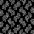 Hand drawn seamless pattern — Vettoriali Stock