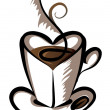 Royalty-Free Stock Vector: Cup of coffee