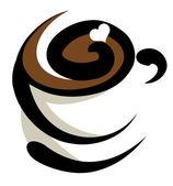 Icône de café — Vecteur