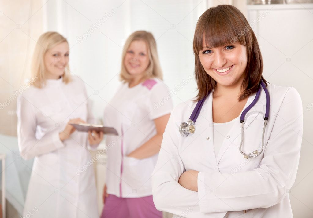 Бабы у врача