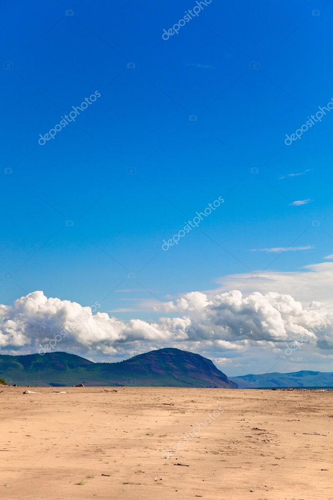 Desert landscape - nature background  — Stock Photo #6088462