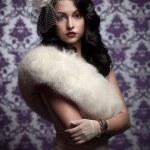 Beautiful Woman.Retro Styled Soft Portrait — Stock Photo #6658787