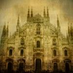 Vintage Duomo — Stock Photo #5753119