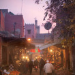 Nightlife in Marrakech — Stock Photo #5757217