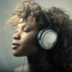 音楽を楽しむ — ストック写真