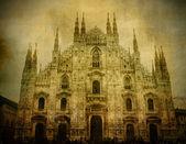 Vintage Duomo — Stock Photo