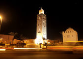 Marrakech by night — Stock Photo