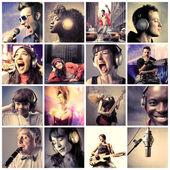 Hudba a zvuk — Stock fotografie