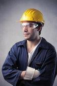 безопасность на работе — Стоковое фото