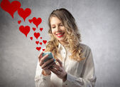 Love messages — Stock Photo