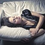 Uyuyan güzel — Stok fotoğraf