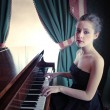 Pianist — Stock Photo