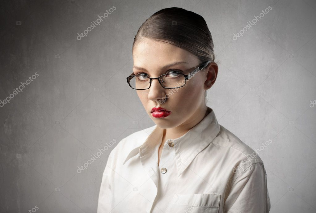 Businesswoman with disappointed expression  Stock Photo #5948173