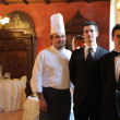 Restaurant team — Stockfoto #5952102