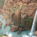 Ouzoud falls — Stock Photo #5971051
