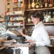 Waitress — Stock Photo