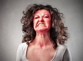 Furious woman — Stock Photo