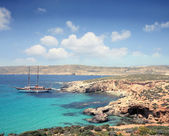 Coast in Malta — Stock Photo