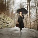 regenachtige dag — Stockfoto