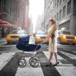 madre della città — Foto Stock