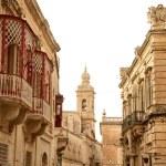 Streets of Mdina — Stock Photo