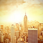 Morning in Manhattan — Stock Photo