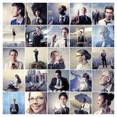 Podnikání v akci — Stock fotografie