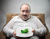 Strict diet — Stockfoto