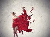 Beauté rouge — Photo