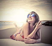 Sunbathe — Stock Photo