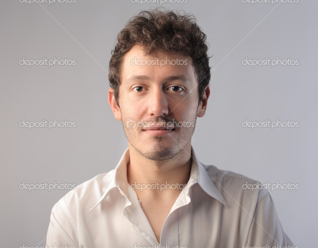 Portrait of a young man — Stock Photo #6315482