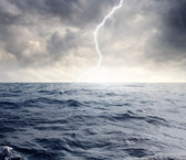 Marine storm — Stock Photo