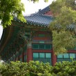 Korean Temple — Stock Photo