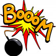 Booom! — Stock Vector