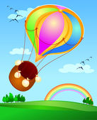 Balloon — Vector de stock
