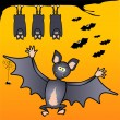 Royalty-Free Stock Vectorielle: Funny bats