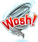 вихревые wosh — Cтоковый вектор