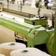 Текстильные машины — Стоковое фото