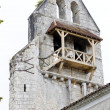 Ruin of old church in Noaillan, Aquitaine, France - Stok fotoğraf