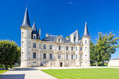 Chateau Pichon Longueville, Bordeaux Region, France — Stock Photo