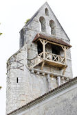 Ruin of old church in Noaillan, Aquitaine, France — Stock Photo
