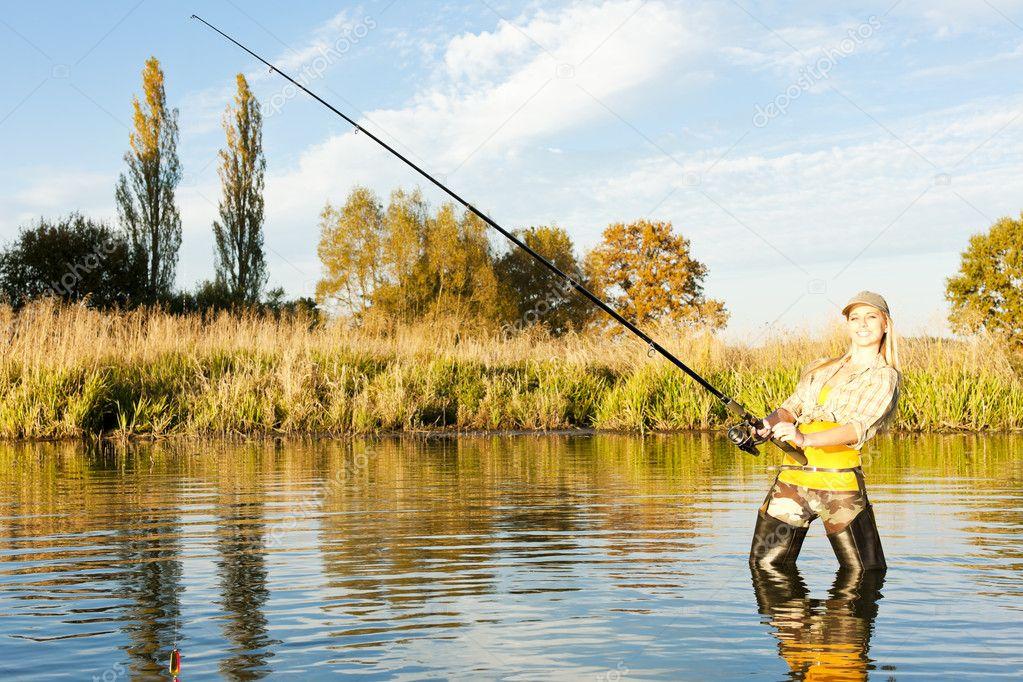 хобби женщины рыбалка