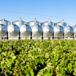 Stock Photo: Fermentation tanks, Begadan, Bordeaux Region, France