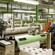 Foto Stock: Textile machines