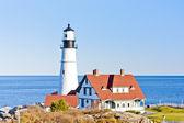 Portland Head Lighthouse, Maine, USA — Stock Photo